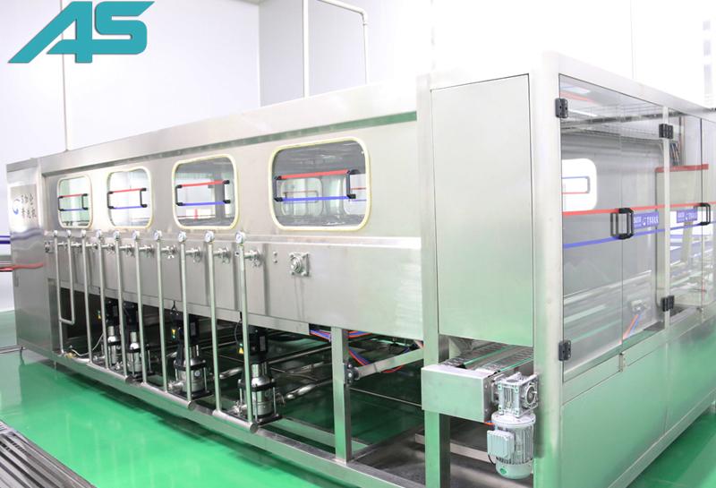 600-1200BPH桶装水灌装自动生产线