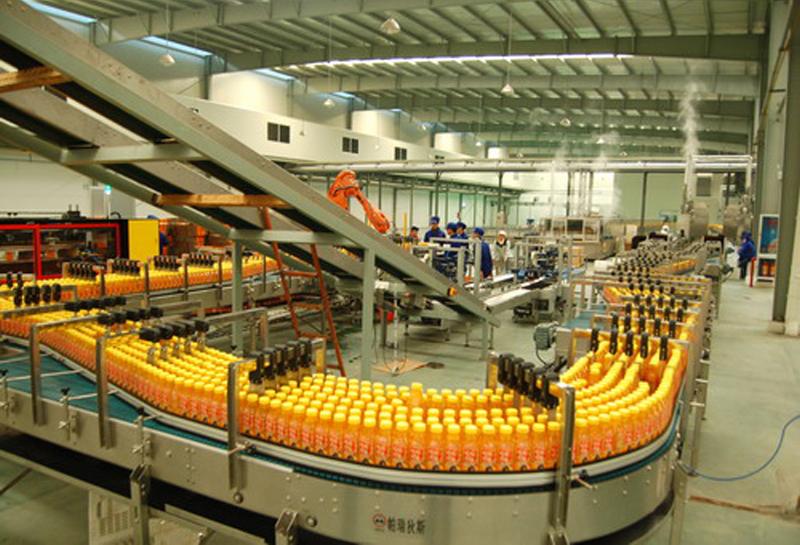 瓶装饮料生产线